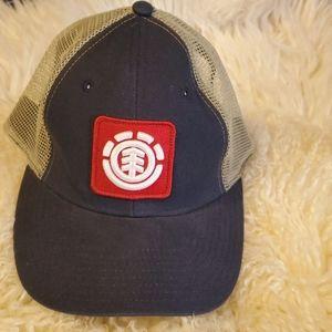 Element Bays Black Mesh Trucker Snapback Hat